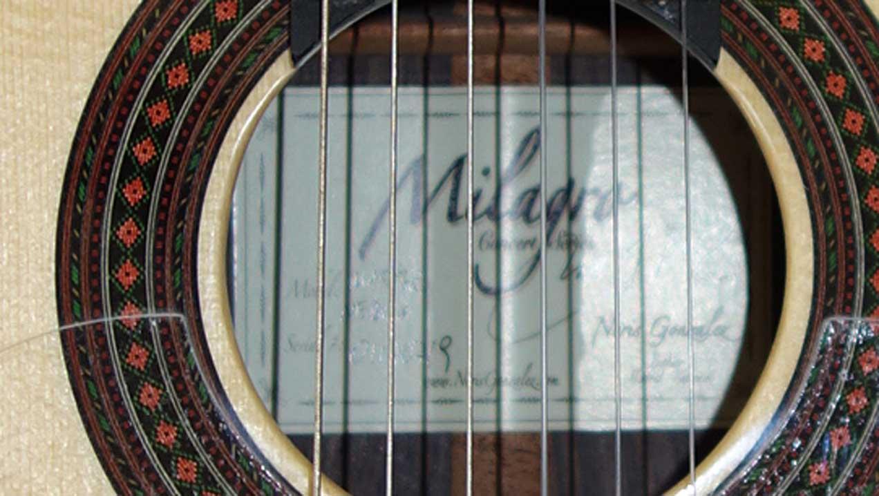 New  Milagro Master Series Flamenco Negra 6-String Classical Guitar