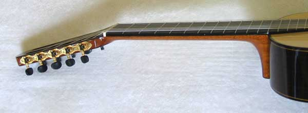 MILAGRO MRS10 10-String Classical Harp Guitar, Spruce Top, w/ Hardshell Case