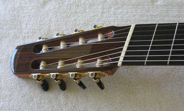 2010 BARTOLEX SPS8FACEL  8-String Fanned-Fret Classical Harp Guitar