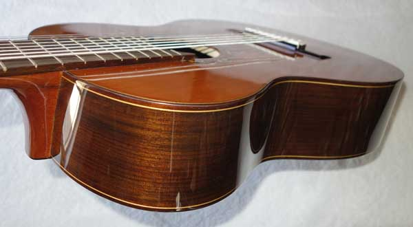 BARTOLEX SRC8 Classical 8-String Harp Guitar w/Silk-Lined Case, Cedar Top