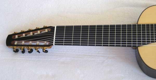 2011 BARTOLEX SRS10 10-String Classical Harp Guitar